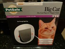 Pet Safe Big Cat~The Cat Flap for Bigger Cats 1-25 lb or Small Dogs~New in Box