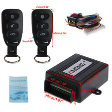 Car Remote Control Central Door Lock Controller Kit Vehicle Keyless Entry System
