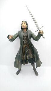 Aragorn - Der Herr der Ringe Marvel von 2001 + Schwert ca. 16 cm hoch