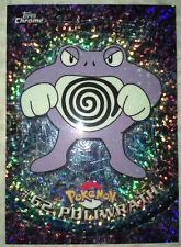 """RARE 2000 Topps Sparkle Chrome Pokemon """"Poliwrath"""" Card #62 - NM!"""