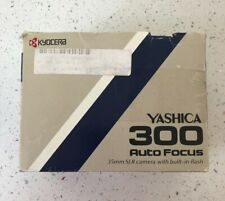 YASHICA 300 AF 35mm AUTOFOCUS SLR CAMERA in the FACTORY BOX