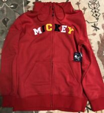 H12 SWEAT MICKEY ROUGE XXL Disneyland Paris