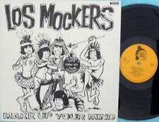 Los Mockers ORIG SWE LP Make up your Mind NM '87 Garageland Garage Psyche