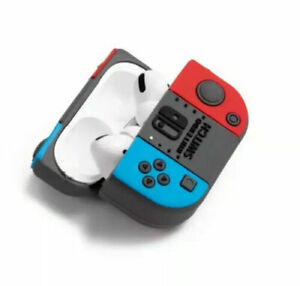 For Airpods PRO Charging Case 3D Switch Gamepad Earphone Protective Soft Rubber