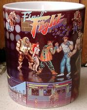 FINAL FIGHT ZX Spectrum, Atari,Amiga, Arcade game~Cody,Guy, Haggar~ CERAMIC MUG