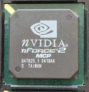 NVidia Nforce 2 Ultra 400 MCP GPU BGA Chipset IC 0419A4 TAIWAN