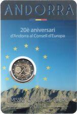 2 Euro commémorative d'Andorre 2014 Brillant Universel (BU) - Entrée au Conseil