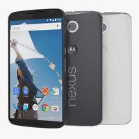 "Motorola Nexus 6 XT1103 ""Factory Unlocked"" GSM 32GB 4G LTE Android Smartphone"