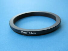 55mm to 49mm Stepping Step Down Ring Camera Lens Filter Adapter Ring 55-49mm