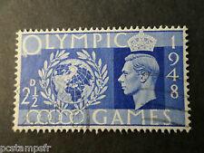 GB - GRANDE-BRETAGNE, 1948, timbre 241, JEUX OLYMPIQUES, oblitéré, VF stamp41
