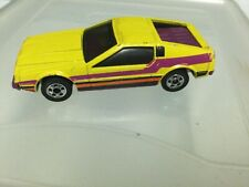 Vintage Hot Wheels Blackwall Turismo DeLorean Yellow 1979 Malaysia