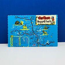 Postcard vintage post card ephemera vtg americana Cariboo nugget trails Canada