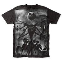 Nightmare Before Christmas Jack Skellington Rainstorm T-Shirt
