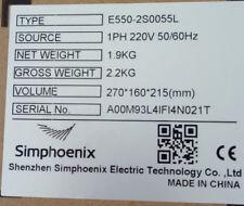 5.5KW 7.5HP 1000HZ VFD Inverter 1 ph 220v to 3ph 220V for CNC engraving spindle