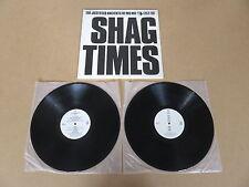 THE JUSTIFIED ANCIENTS OF MU MU Shag Times 2x LP RARE MISPRINTED SLEEVE KLF
