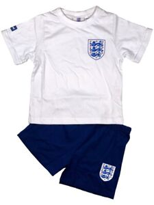 Official England Football Pyjamas Pyjamas Pjs Boys Kids Children's 4 6 8 10 12