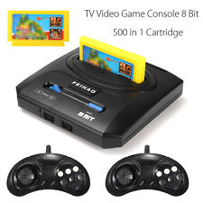 Vintage Tv Video Game Console 8 Bit Games Retro Gamepads With 500 in 1 Cartridge