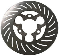 "NEW MCP KARTING ENGINETICS BRAKE ROTOR,3 BOLT,6""x.125"""