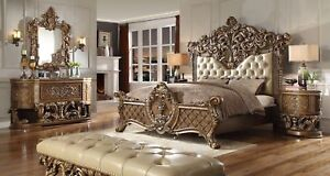 HOMEY DESIGN HD-8018 BRAND NEW KING OR CAL KING 5PC BEDROOM SET