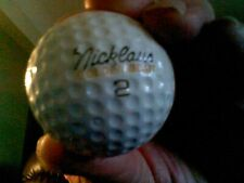 Jack Nicklaus Signature Logo Golf Ball Pre Owned (Used)