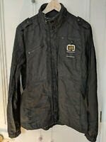 G STAR RAW ORIGINALS DENIM coat work dean overshirt SIZE M black mens coat