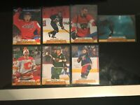 2020-21 UPPER DECK SERIES 1 CANVAS LOT OF 7 DEFENCE MAN