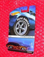 Hot Wheels Real Riders '71 Plymouth Satellite  #10   CFN63-D710