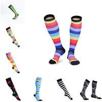 1 Pair Compression Socks For Women Men Medical Nursing Travel Crossfit Sports
