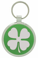 Pet Tag Dog Tags Custom Engraved Identification ID Lucky Four Leaf Clover Charm