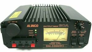 Alinco DM-330MW MK2 30 Amp UK Spec Communications Grade Switch Mode Power Supply
