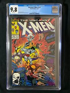 Uncanny X-Men #238 CGC 9.8 (1988)