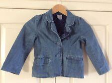 John Lewis Girls Denim Jacket Age 5 Years