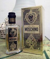 Aftershave MOSCHINO POUR HOMME vintage 100 ml + Eau de toilette ( free )