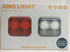 Reelight AMS LED Flash Bike Bicycle Cycling Front Head Rear Tail Lamp Light Set