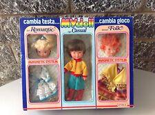 1982#Vintage Mydoll Fiba Magnetic System Doll Dolls Bambola Bambole