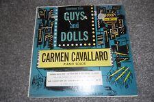 "GUYS AND DOLLS -- Carmen Cavallaro Piano Solos -- 12"" LP-- Decca"