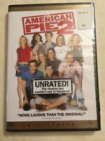 American Pie 2 - DVD (2002)  - Unrated Version Widescreen Collectors Edition NEW