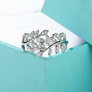 1/3Ct White Round Diamond Snow Flower Engagement Ring Solid 925 Sterling Silver