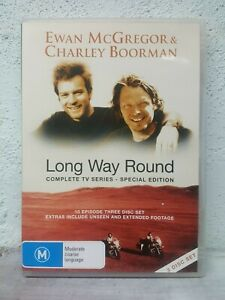 Long Way Round DVD Complete - Ewan McGregor & Charley Boorman