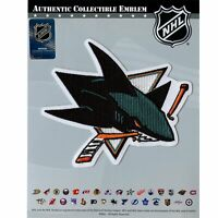 San Jose Sharks Primary Team Logo Patch Emblem Jersey Official NHL Hockey