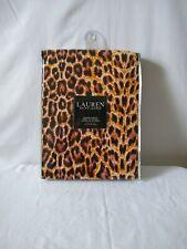 NEW Ralph Lauren Polo Home Lauren Shower Curtain Leopard Print 72 x 72