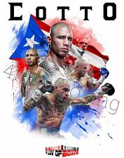 Miguel Cotto Boxing 11x17 Poster 4LUVofBOXING WH New PR
