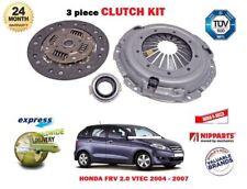 FOR HONDA  FRV  2.0 VTEC 2004-2007 NEW 3 PIECE CLUTCH KIT complete *OE QUALITY*