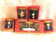 "1995 - Peanuts - ""A Charlie Brown Christmas"" Hallmark Tabletop Display Set"