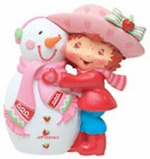 Strawberry Shortcake & Snowman  American Greetings Ornament *CLEARANCE*