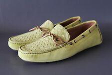 BOTTEGA VENETA Herren Mokassins EUR 45 Lime Grün Shoes Made in Italy NEU