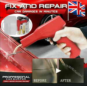50W Car Hot Stapler Machine Handy Plastic Welder Garage Tools Repairing Kits