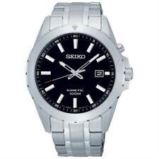 Seiko SKA697P1 Man Watch Kinetic Steel Bracelet