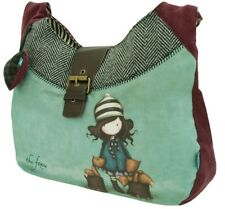 Santoro Gorjuss Womens Slouchy Shoulder Bag - The Foxes