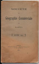 Bulletin de la Société de Géographie Commerciale de Nantes - Année 1905